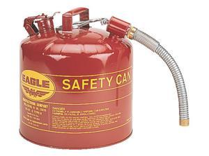 EAGLE U251SY 5 gal. Yellow Galvanized steel Type II Safety Can for Diesel