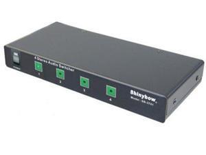 Shinybow - SB-5440RL - 4x1 Stereo Audio Switch