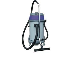 Mercury Floor Machines - WVP-20 - Storm Wet/Dry Tank Vacuum with Tools, Dual Motor, 20 Gallon Poly Tank, Gray
