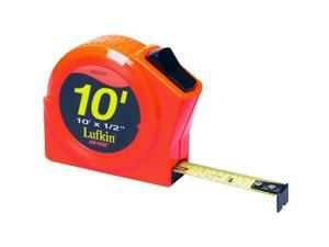 10FTX1/2 TAPE RULE LUFKIN Tape Measures and Tape Rules PHV1010 037103251701