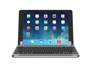 "Brydge 9.7 Bluetooth Keyboard Case for iPad Air, Air 2 iPad Pro 9.7"", & 2017 iPad (Space Gray) BRY1012"