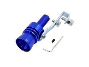 Global Bargains Blue Turbo Sound Whistle Muffler Exhaust Pipe Simulator Whistler XL Type