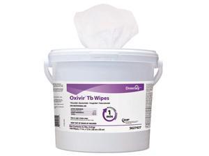 SC Johnson - DVO 5627427 - Oxivir TB Disinfectant Wipes, 11 x 12, White, 160/Bucket, 4 Bucket/Carton
