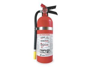 Kidde Fire and Safety - FC340M-VB - Fire Extinguisher, Dry Chemical, Monoammonium Phosphate, 5 lb., 3A:40B:C UL Rating