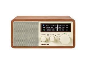 Sangean WR-16 AM/FM Bluetooth Wooden Cabinet Radio