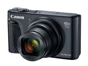 Canon SX740BK PowerShot SX740 HS Digital Camera - Black