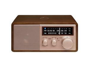 Sangean - WR-16SE - Sangean WR-16SE WR-16 45th Anniversary Special Edition AM/FM Wooden Cabinet Radio with Bluetooth