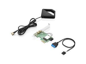 Lenovo IEEE 802.11ac Bluetooth 4.2 - Wi-Fi/Bluetooth Combo Adapter for Desktop Computer
