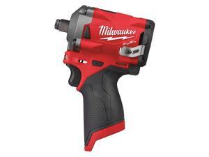 Milwaukee Electric Tool - 2555-20 - 1/2 Cordless Impact Wrench, 12.0 Voltage, 250 ft.-lb. Max. Torque, Bare Tool