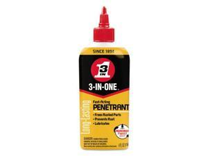 WD-40 3-IN-ONE Professional High-Performance Penetrant, 4 oz Bottle 120015