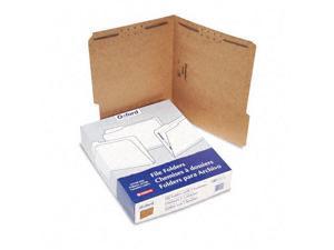 Pendaflex Kraft Fastener Folders 2 Fasteners 1/3 Cut Tabs Letter 50/Box FK212
