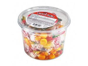 Office Snax Fancy Assorted Hard Candy Individually Wrapped 2 lb Tub 70009