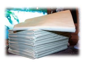 192 (16 Dozen) White Pillow Cases Covers King 20x42 T180 Premium Percale Hotel Linen