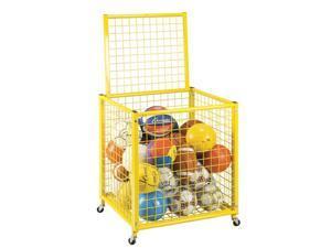"""Yellow Grid Locker - 27""""L x 29""""W x 31""""H"""