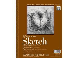 Strathmore Series 400 Sketch Pads 14 in. x 17 in. sheets pad of 100