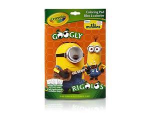Crayola Minions, Googly Eyes Coloring Book 04-5870
