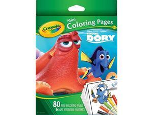Crayola Mini Coloring Pages-Finding Dory 04-2008