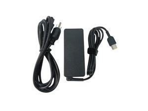 65 Watt Ac Adapter Charger & Power Cord (Slim Tip) for Select Lenovo Thinkpad Laptops - Replaces 45N0262, 45N0258, 45N0336, 45N0334, 45N0495, 45N0254, 45N0497