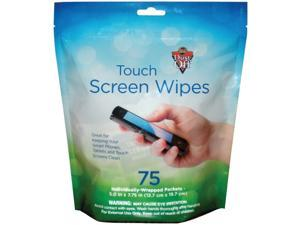 Dust-Off DTSW75 Touchscreen Wipes (75-ct)