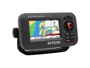 "SI-TEX SVS-460CE Chartplotter - 4.3"" Color Screen w/External GPS & Navionics+ Flexible Coverage"