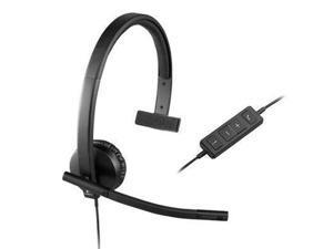 Logitech Usb Headset H570e Mono - 981-000570