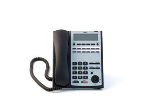 BE110270 12-Button Full-Duplex Tel BLACK - NEC-1100061