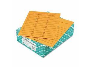 Quality Park Brown Kraft Redi-Tac Box-Style Interoffice Envelope - QUA63666