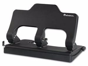 Universal One Power Assist Three-Hole Punch - UNV74325