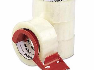 Universal One Heavy-Duty Box Sealing Tape with Dispenser - UNV91004