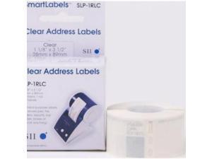SEIKO SMART LABEL TRUE CLEAR ADDRESS LAB - SLP-1RLC