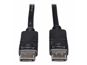 Tripp Lite 20Ft Displayport Cable With Latches Video / Audio Dp 4K X 2K M/M 20' - Displayport Cable - 20 Ft - P580-020