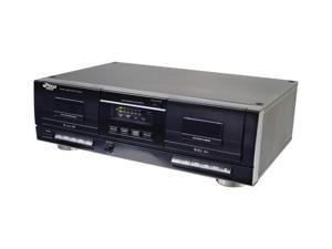 Dual Cassette Deck with MP3 Conversion - PT659DU