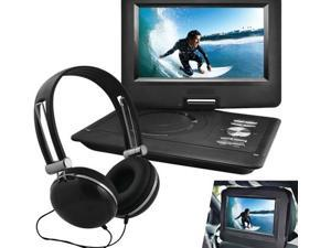 "Ematic EPD116 Portable DVD Player - 10"" Display - 1024 x 600 - Black - DVD-R, CD-R - DVD Video, Video CD, MP4, DivX - CD-DA, MP3 - Lithium Polymer"