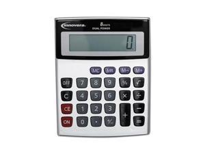 Innovera 15925 Portable Minidesk Calculator - IVR15927