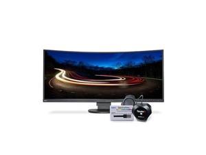 "NEC Display MultiSync EX341R-BK-SV 34"" LED LCD Monitor - 21:9 - 5 ms"