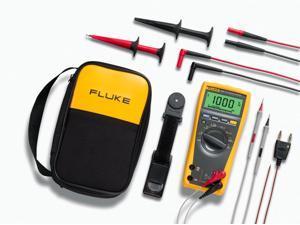 Fluke 179/EDA2 True RMS Digital Multimeter and Deluxe Accessory Combo Kit
