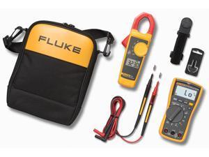 Fluke - FLUKE-117/323 KIT - Fluke FLUKE-117/323 Electricians Multimeter Combo Kit; Includes: Fluke's 117 Electrician's