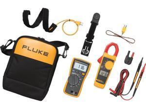 Fluke 116/323 KIT Handheld Multimeters - True RMS: Yes, Type: Digital