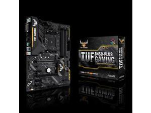 ASUS TUF B450-PLUS GAMING - Motherboard - ATX - Socket AM4 - AMD B450 - USB 3.1 Gen 1, USB 3.1 Gen 2, USB-C Gen1 - Gigab