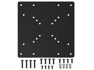 Mount-It! VESA Mount Adapter Plate Monitor and TV Mount Extender Conversion Kit   75x75, 100x100 to Fit Up to 200x200 and 200x100 mm Patterns