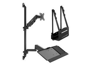 Mount-It! Wall Mount Workstation with Single Monitor Mount
