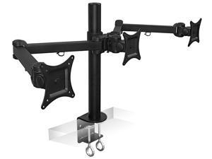 Mount-It! Triple Monitor Mount | Fits 19 to 24 inch Screens