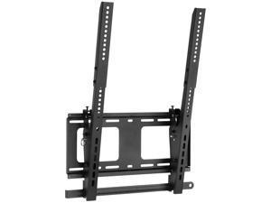Mount-It! Vertical Portrait TV Wall Mount | Vertical-Orientation Menu Wall Board Mount | Fits Most 40-55 Inch TVs