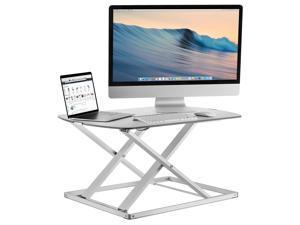 Mount-It! Standing Desk Converter   31x22 Inch Preassembled Stand Up Desk Converter   22 Lb Capacity