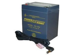 Oklahoma Sound PS12V 12V 5 Amp Rechargeable Battery