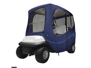 Classic Accessories Fairway Deluxe Golf Cart Enclosure Long Roof  Khaki New