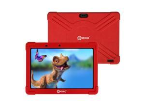 Contixo K101A 10 inch IPS Display Kids Tablet with 2GB RAM 16GB ROM Android 10 Parental Control for Children Infant Toddlers at Home School, Educational Tablet for Kids, WiFi, Child-Proof Case, Red