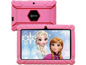Contixo V8-2 7 inch Kids Tablets - Tablet for Kids with Parental Control - Android Tablet 16 GB HD Display Durable Case & Screen Protector WiFi Camera-Learning Toys for 2 to 10 Years Old (Pink)