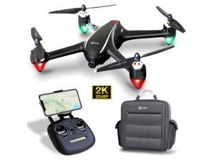 Contixo F18 2K FPV RC Drone with Camera for Adults - Quadcopter with Brushless Motor - Beginners GPS Drone for Kids-5G WiFi- Follow Me - Auto-Return - Point of Interest - Modular Battery with Backpack