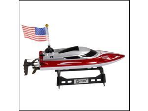 Contixo RC Racing Boat Speedboat Ship | Radio Control Remote Controlled Speed Boat Swimming Pool Toy